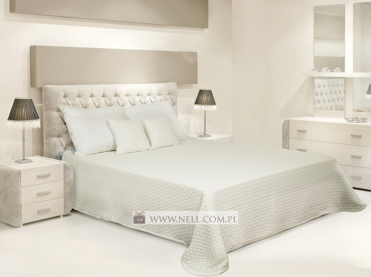 Narzuta Na łóżko Capri Cappuccino