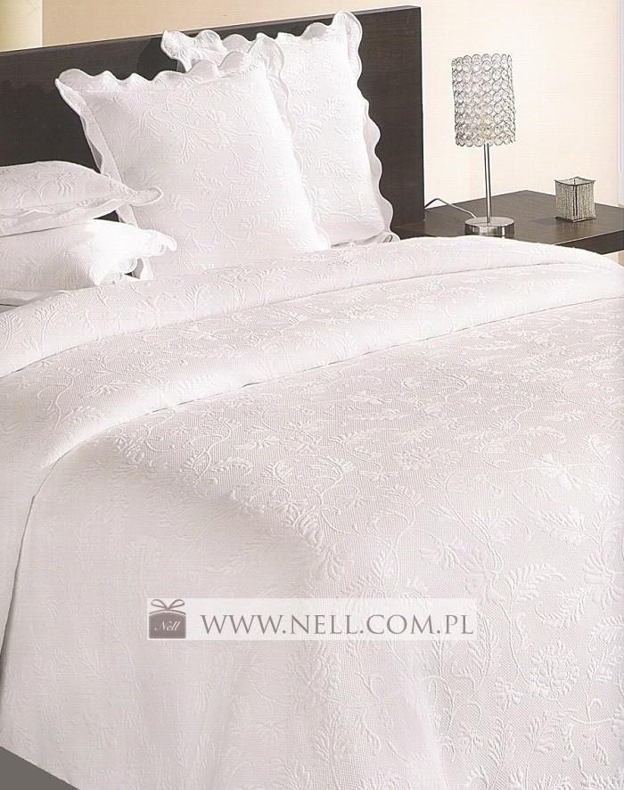 Narzuta Na łóżko Amores Biała